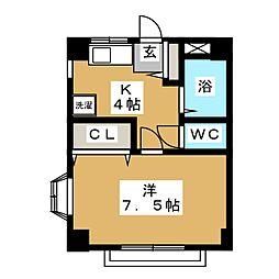 上杉イレブンII[2階]の間取り