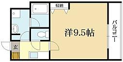 ぺラパラス3[3階]の間取り