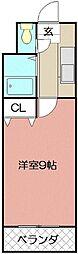 ロイヤルセンチュリー[705号室]の間取り