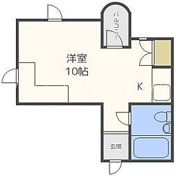 ダイナスティパレス621[2階]の間取り
