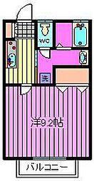 第3平田マンション[1階]の間取り