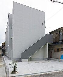 近鉄南大阪線 矢田駅 徒歩14分の賃貸アパート