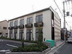 大阪府堺市堺区三条通の賃貸アパートの外観