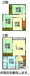 JR函館本線 小樽駅 バス5分 興聖寺前下車 徒歩7分の賃貸テラスハウス 1階4LDKの間取り