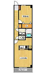 ライラック2[1階]の間取り