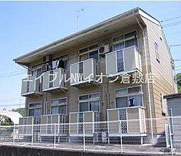岡山県倉敷市連島町西之浦丁目なしの賃貸アパートの外観