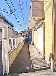 埼玉県新座市畑中3丁目の賃貸アパートの外観