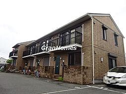 兵庫県神戸市西区伊川谷潤和の賃貸アパートの外観