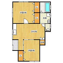カンタハウス[2階]の間取り