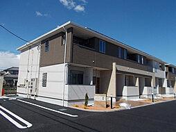 静岡県富士市五貫島の賃貸アパートの外観