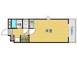 ウインズ藤崎2[2階]の間取り
