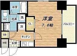 レオンコンフォート本町東[3階]の間取り
