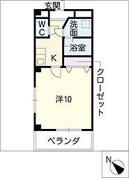 プリミエール21[3階]の間取り