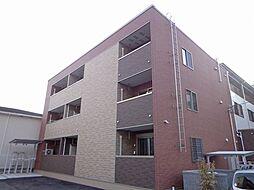 大阪府茨木市真砂3丁目の賃貸アパートの外観