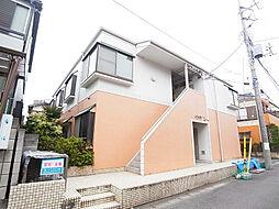 千葉県松戸市栄町1の賃貸アパートの外観