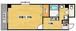 メディナ三条室町[2階]の間取り