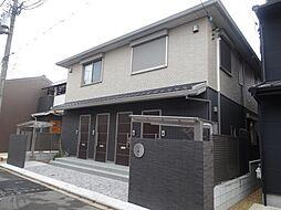 京都府京都市北区紫野中柏野町の賃貸アパートの外観
