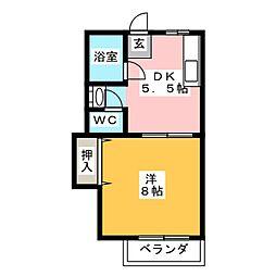 SEZON8[2階]の間取り