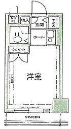 グランビルド宿院[8階]の間取り