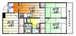 第2ヨシムラコーポ[3階]の間取り