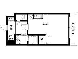 SANKO EXECUTIVE ANNEX[4階]の間取り