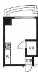 TY BUILDING[A501号室]の間取り