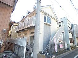 埼玉県川口市西川口2丁目の賃貸アパートの外観