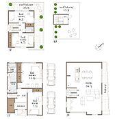建物参考プラン 建物面積:156.99