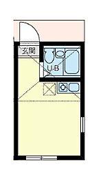 ユナイト井土ヶ谷ロレンツォの杜[1階]の間取り