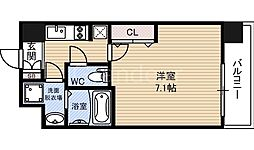 レークス大阪城EAST[6階]の間取り