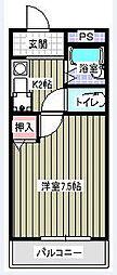 エメローズ汐田[1階]の間取り