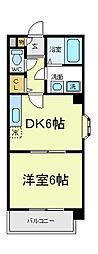 メゾンケーアイ[2階]の間取り