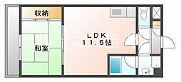 兵庫県神戸市垂水区旭が丘3の賃貸マンションの間取り