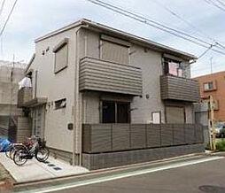 神奈川県横浜市鶴見区仲通3丁目の賃貸アパートの外観