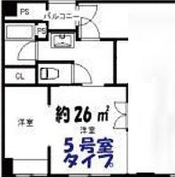 アトリエ351[305号室]の間取り