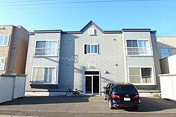 北海道札幌市東区伏古七条5丁目の賃貸アパートの外観