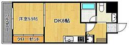 ルネッサンス21[5階]の間取り