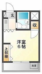 シャルマン武庫川[3階]の間取り