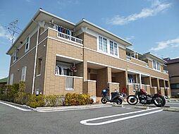 大阪府松原市河合3丁目の賃貸アパートの外観