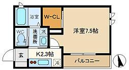 (仮称)越谷市千間台東シャーメゾン 101[1階]の間取り