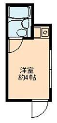 東京都台東区台東4丁目の賃貸マンションの間取り