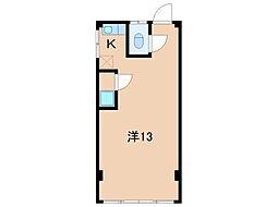 新生ハイツ[2階]の間取り