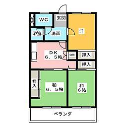 シティ15[1階]の間取り