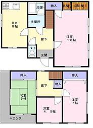 [一戸建] 大阪府和泉市伯太町4丁目 の賃貸【/】の間取り