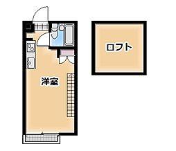 セゾン103[21号室]の間取り
