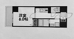グランヴァン横濱クレストシティ[1002号室]の間取り