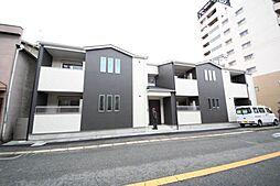 大阪府東大阪市足代新町の賃貸アパートの外観