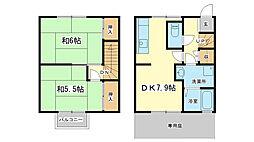 田寺サニーライフ3号棟[1階]の間取り