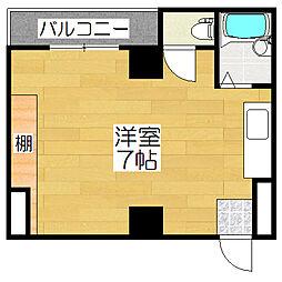 昭和通りハイツ[3階]の間取り