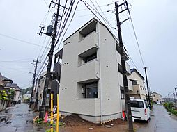 千葉県船橋市前原東5丁目の賃貸アパートの外観